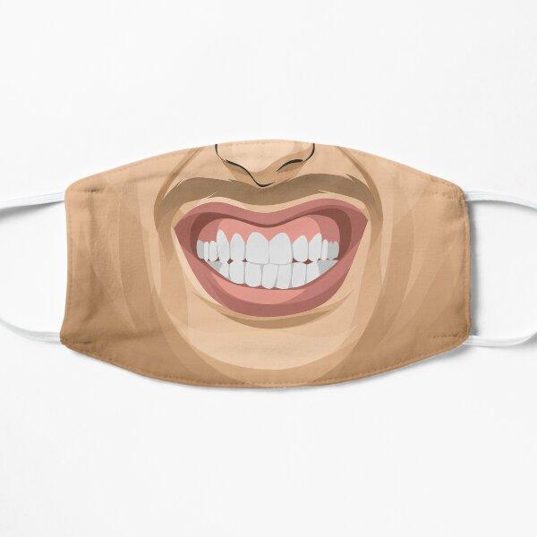 Masque de sourire gagnant Masque sans plis