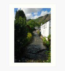 Church Beck - Down From The Fells Art Print