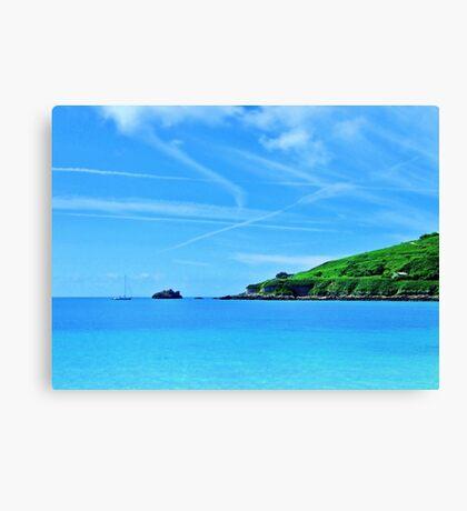 Longis Beach - Alderney Canvas Print