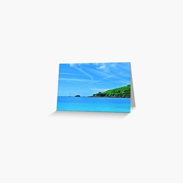 Longis Beach - Alderney Greeting Card