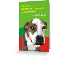 Polly's xmas card Greeting Card
