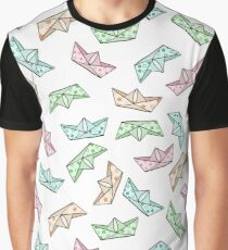 Paper boats Graphic T-Shirt