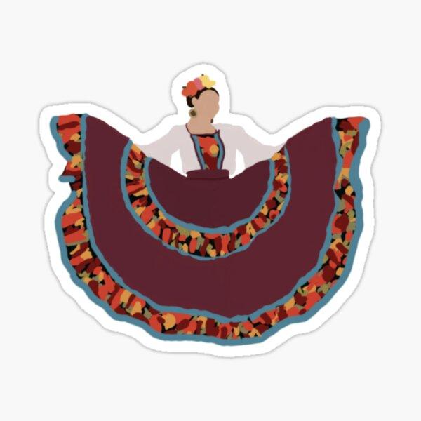 Ballet Folklorico Dancer Sinaloa Sticker