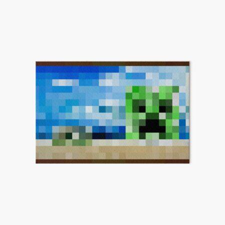 Creebet - Minecraft Painting Art Board Print