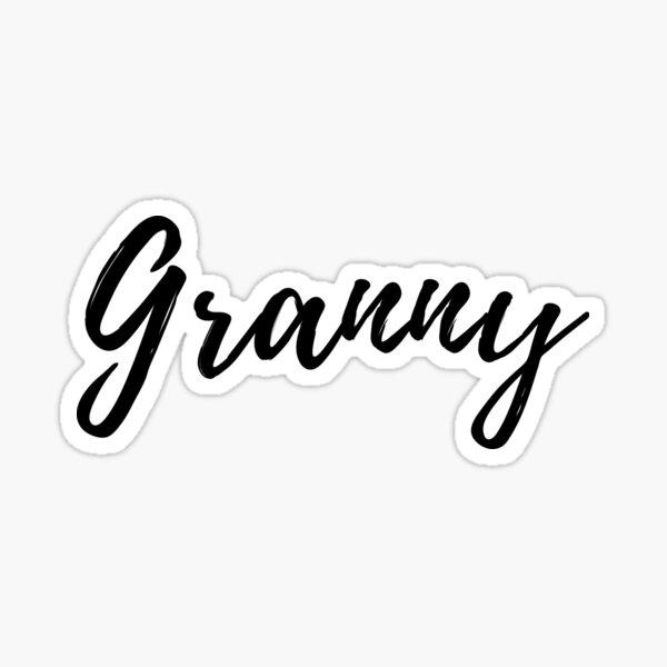 Granny Sticker