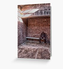 Detention - Old Dubbo Gaol - The HDR Experience Greeting Card