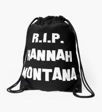 MY R.I.P. Hannah Montana Shirt! Drawstring Bag