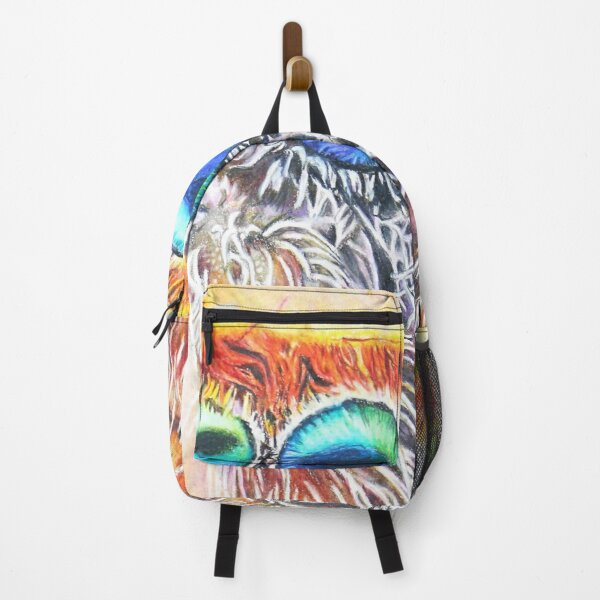 Spider Art, Realistic Jumping Spider Backpack