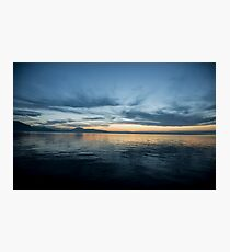 Lake Zug, Switzerland Photographic Print