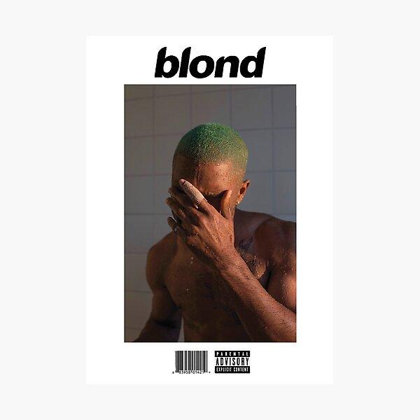 Frank Ocean - Blonde Photographic Print