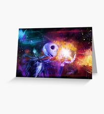Jack Skellington. Greeting Card