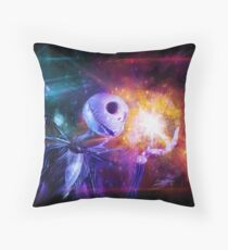Jack Skellington. Throw Pillow