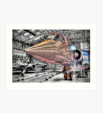 TSR2 XR220 - Cosford - HDR Art Print