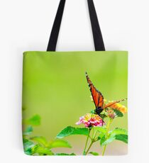 Monarch on Lantana III Tote Bag