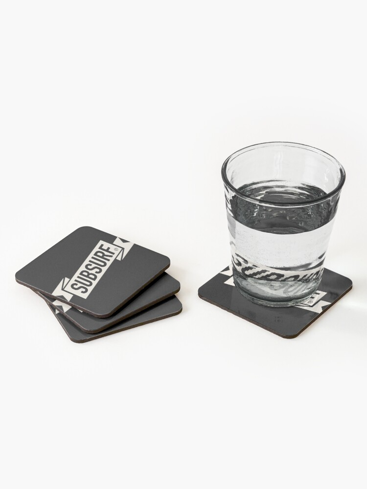 Alternate view of SubSurf Coasters (Set of 4)