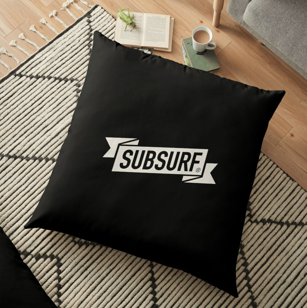 SubSurf Floor Pillow