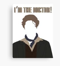 I'm The Doctor! - Paul McGann - Doctor Who Canvas Print