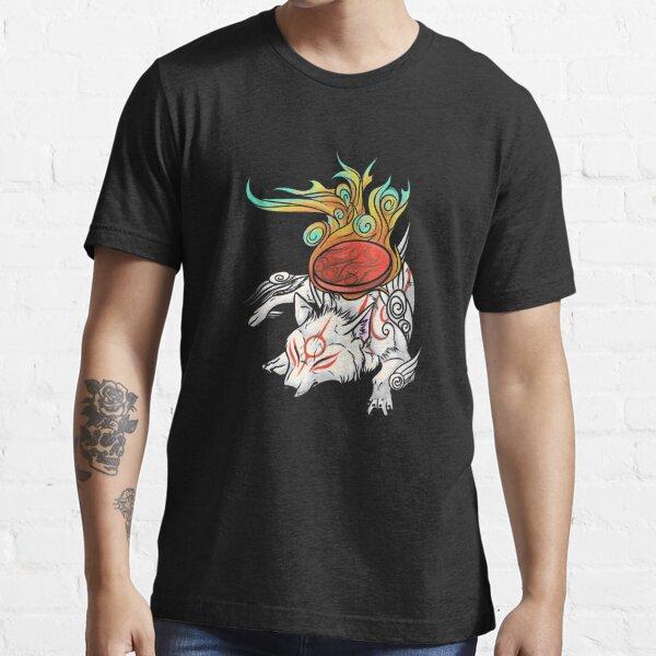 Okami - Amaterasu descansa Camiseta esencial