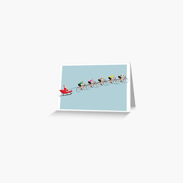 The Christmas Peloton Greeting Card