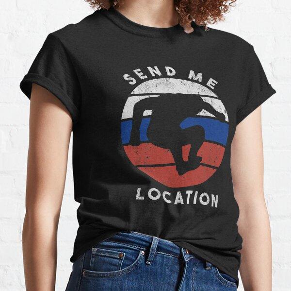 Send Me Location Russian Colours Classic T-Shirt