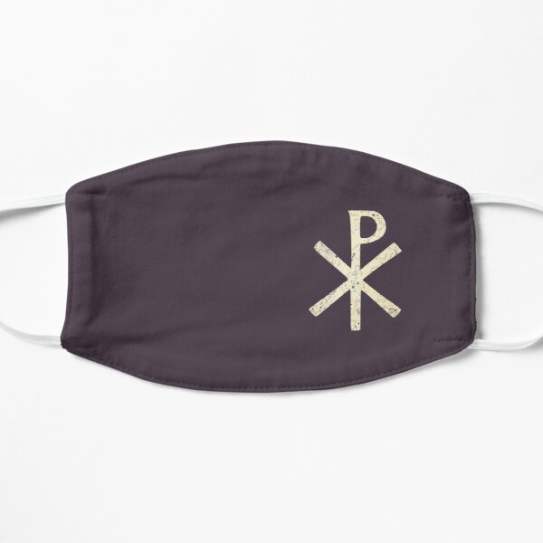 Byzantine Empire Chi Rho Flat Mask
