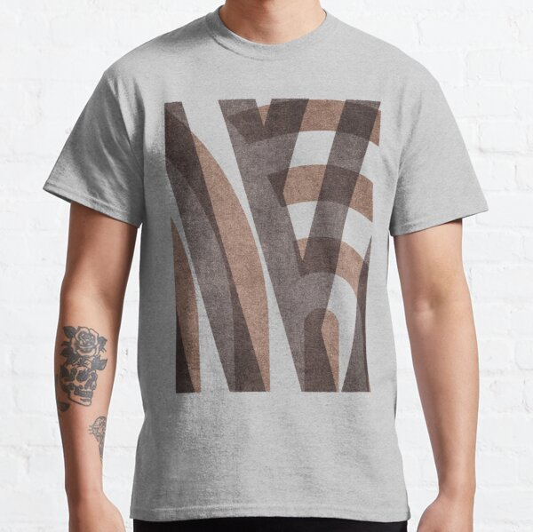 ABSTRACT ALPHABET / Decorative M Classic T-Shirt