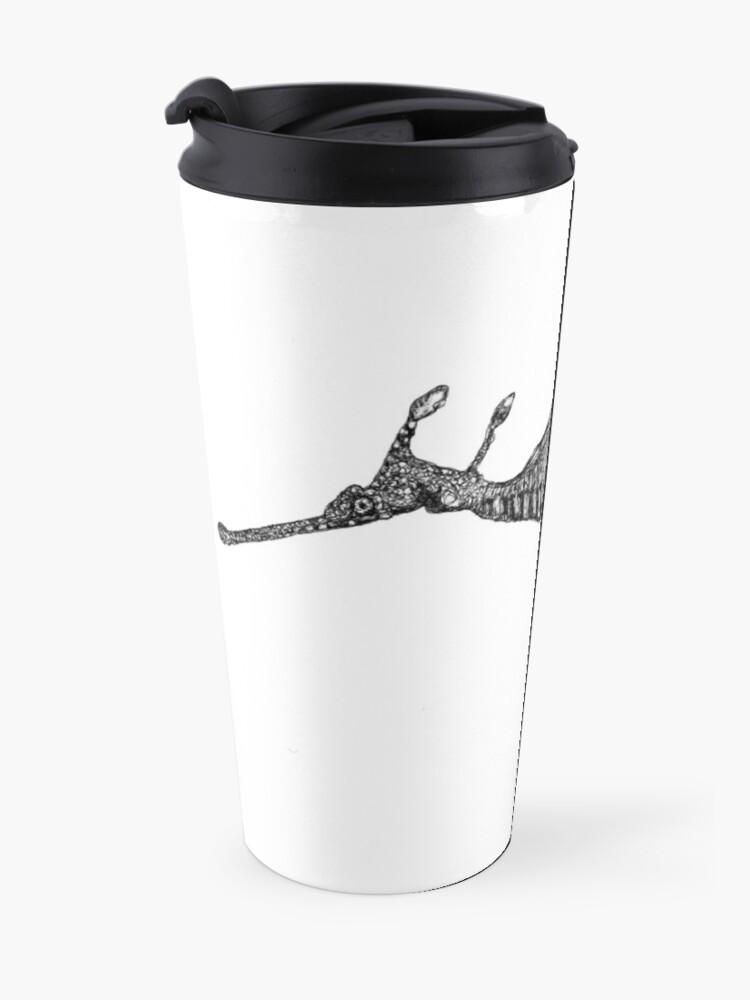 Alternate view of Jennifer the Weedy Sea Dragon Travel Mug