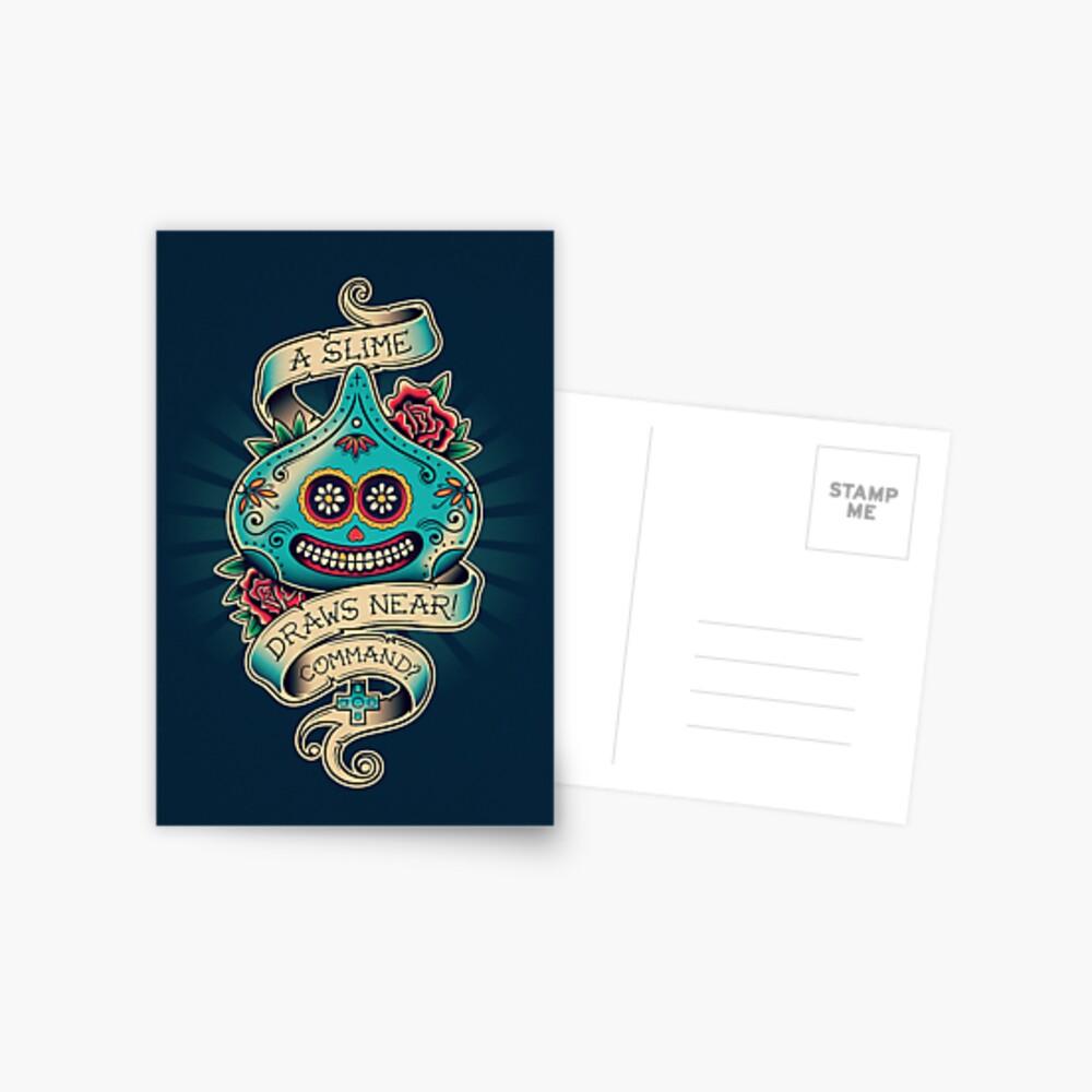 Slime de los Muertos Postcard