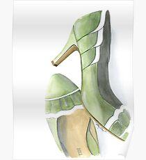 Green Pumps Poster