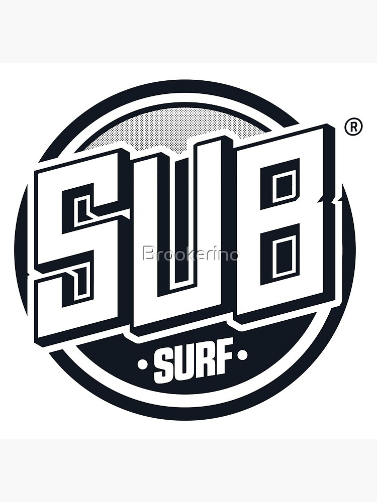 Sub Surf Logo - Subway Surfers by Brookerino