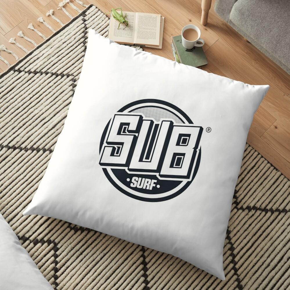 Sub Surf Logo - Subway Surfers Floor Pillow