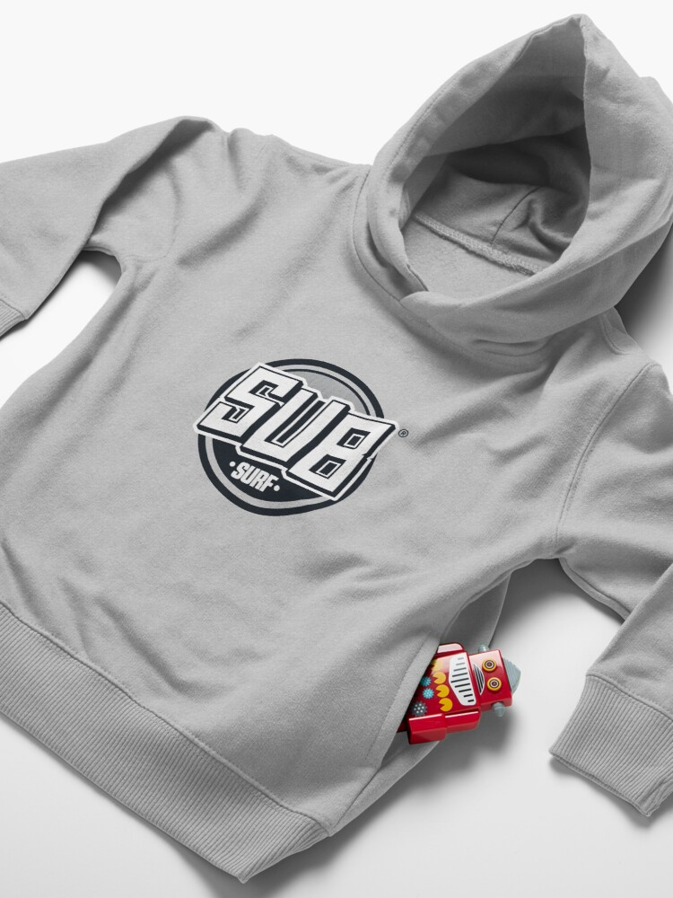 Alternate view of Sub Surf Logo - Subway Surfers Toddler Pullover Hoodie