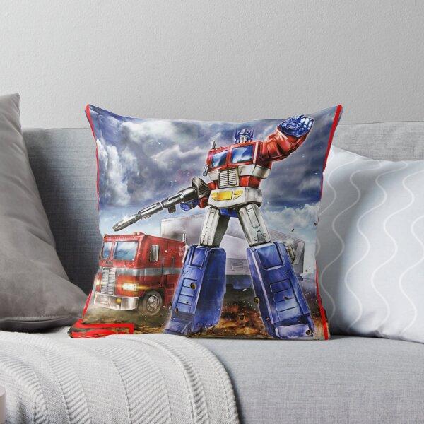 MP44 Optimus Prime Throw Pillow