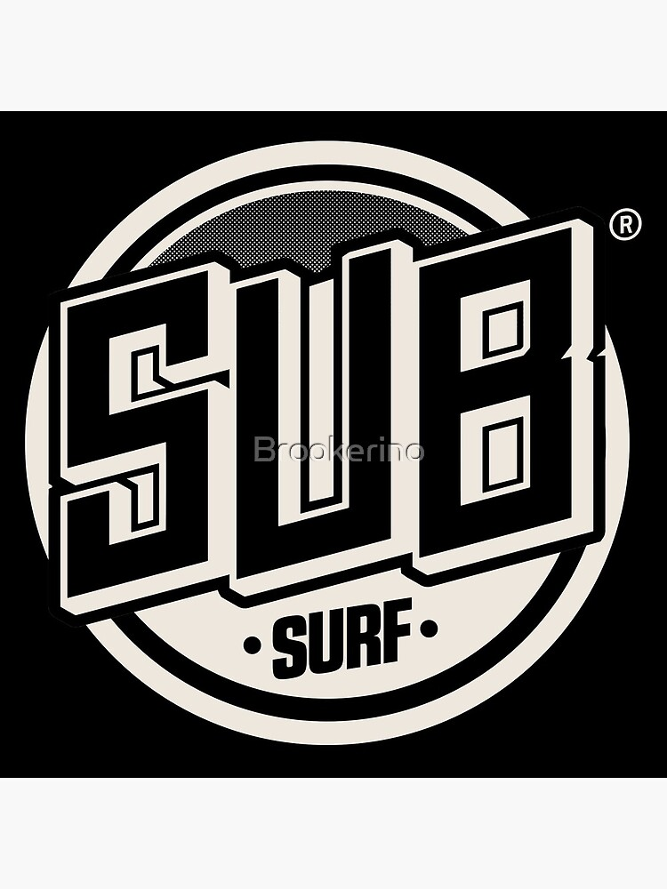 Copy of Sub Surf Logo - Subway Surfers by Brookerino