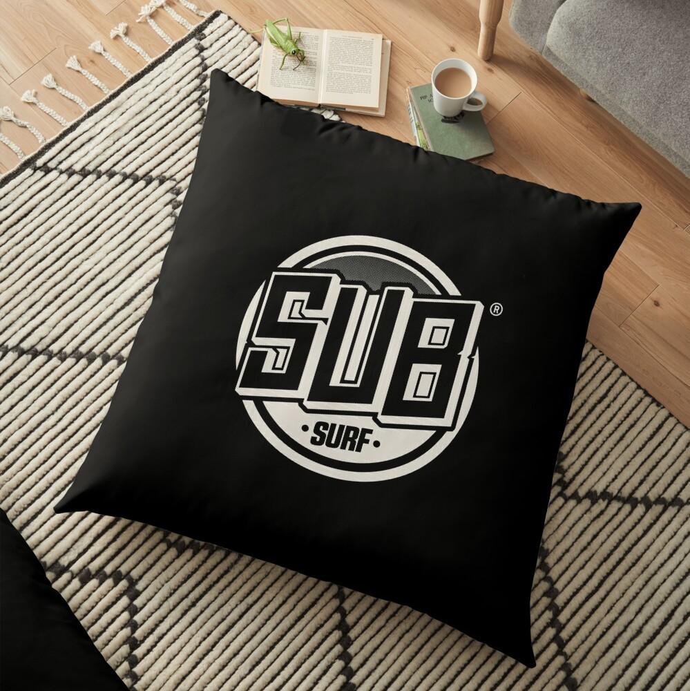 Copy of Sub Surf Logo - Subway Surfers Floor Pillow