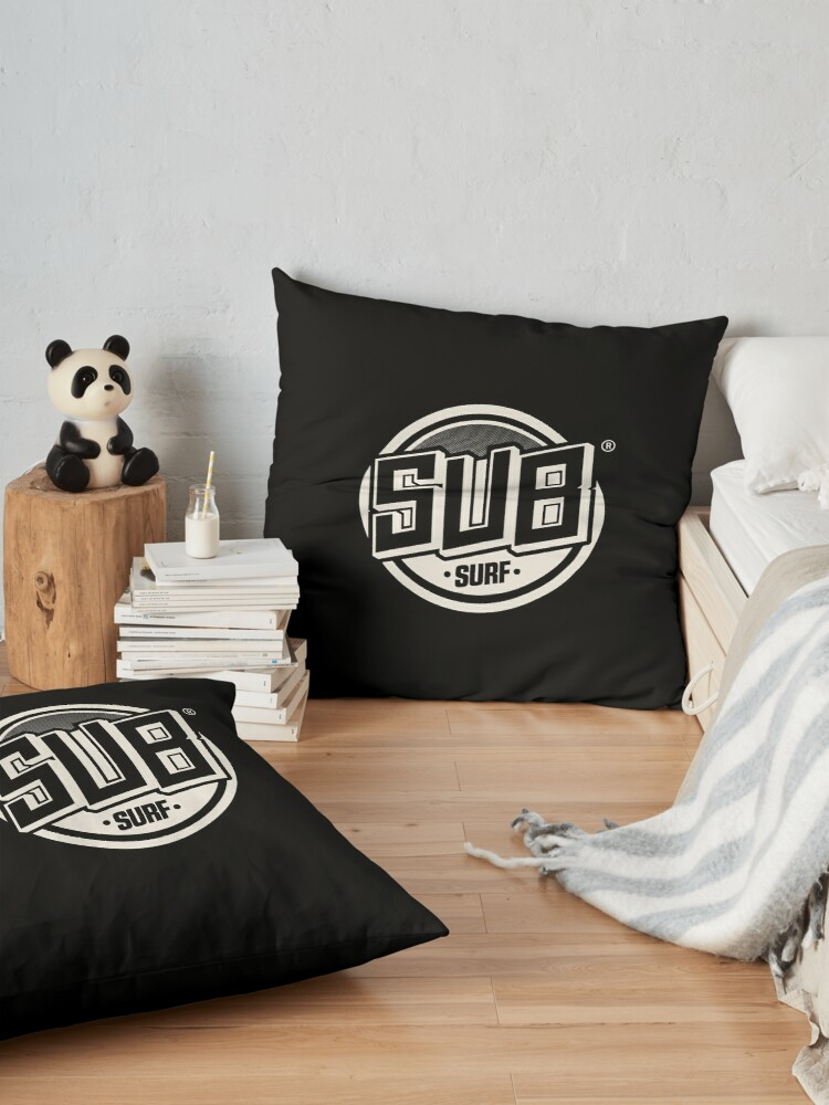 Alternate view of Copy of Sub Surf Logo - Subway Surfers Floor Pillow