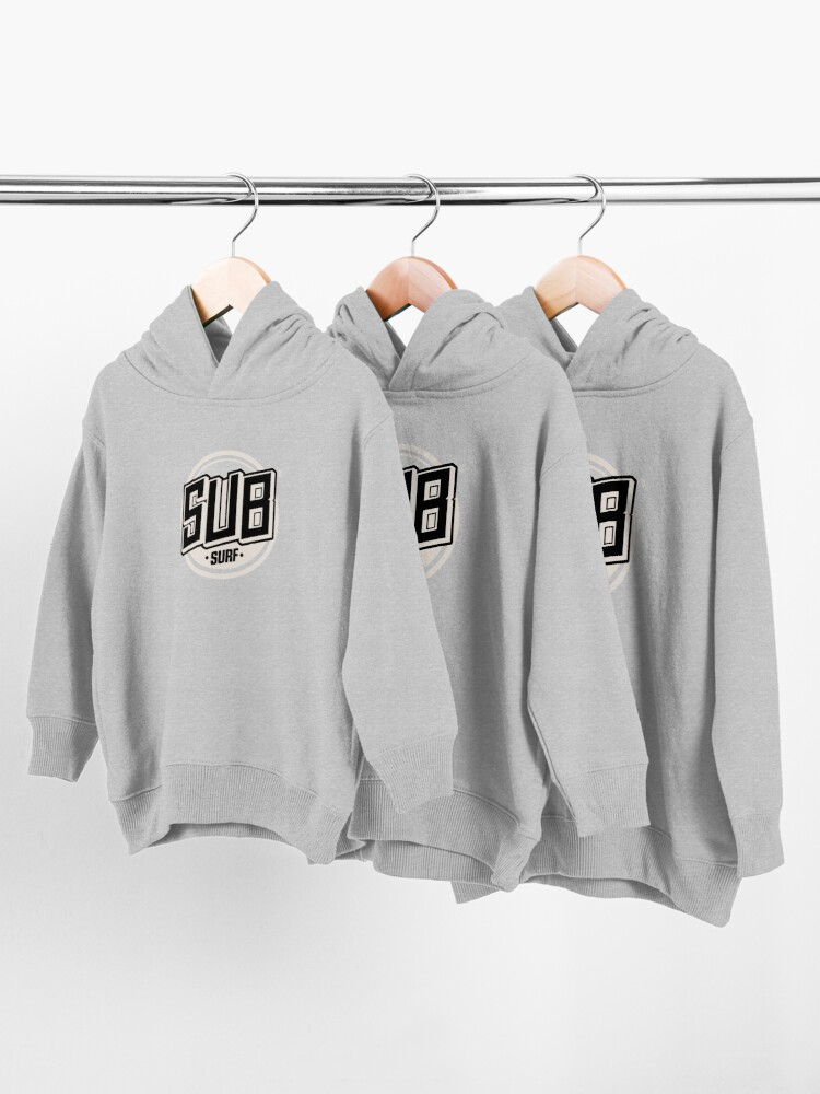 Alternate view of Copy of Sub Surf Logo - Subway Surfers Toddler Pullover Hoodie