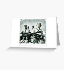 Ladies Rowing Club 1920 Greeting Card