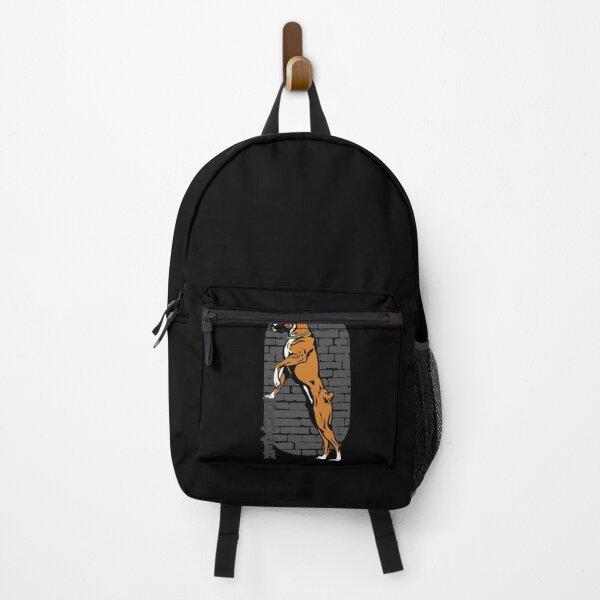Standing Boxer Dog Backpack