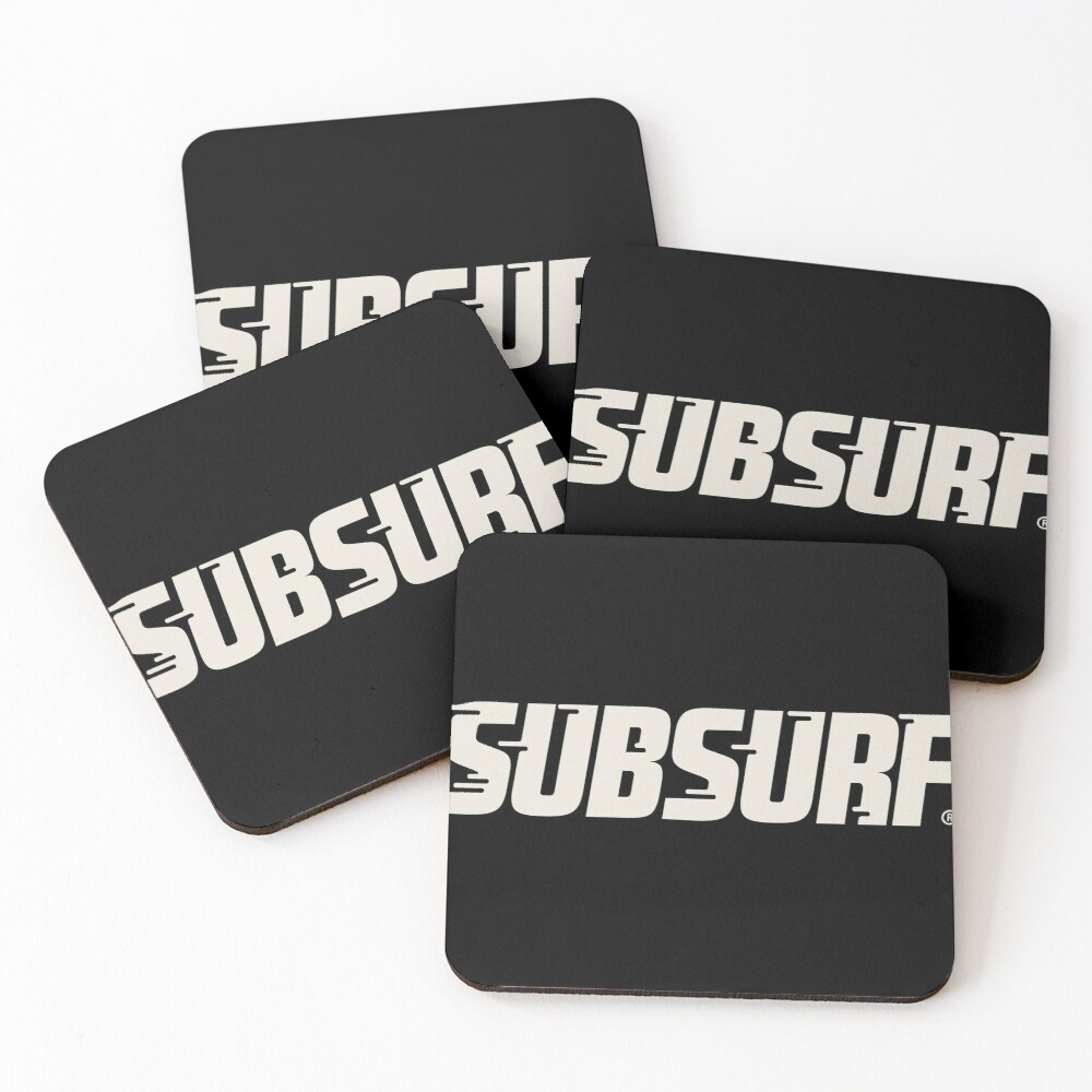 SubSurf - Subway Surfers Coasters (Set of 4)