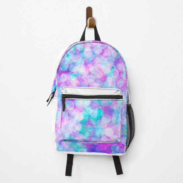 Purple And Blue Spots Backpack