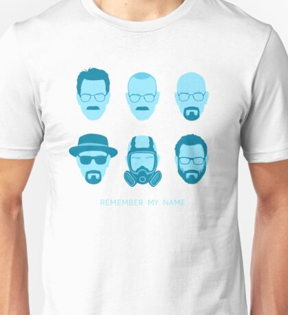 ALL HAIL HEISENBERG! - Blue version Unisex T-Shirt