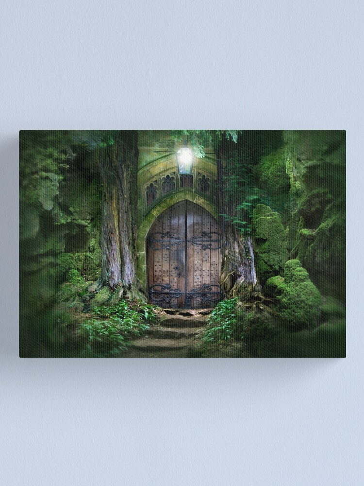 Alternate view of Door into other realms Canvas Print
