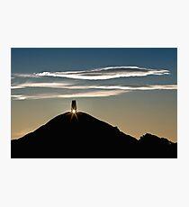 Glastonbury Tor Sunrise Photographic Print