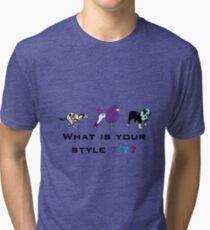 Dog style Tri-blend T-Shirt