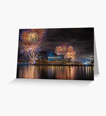 Sydney Fleet Review Greeting Card