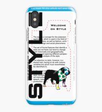 Dog style iPhone Case/Skin