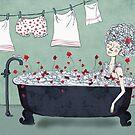 Christmas in the bath by Egle Plytnikaite