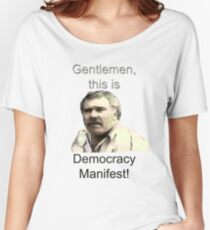 Democracy Manifest Women's Relaxed Fit T-Shirt