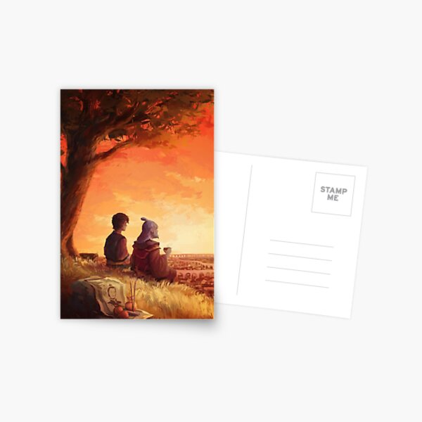 Leaves from the vine [Zuko and Iroh] Postcard